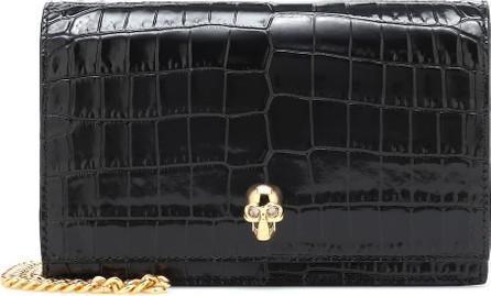 Alexander McQueen Skull Small leather crossbody bag