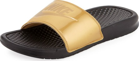 Nike Benassi Just Do It Flat Slide Sandals