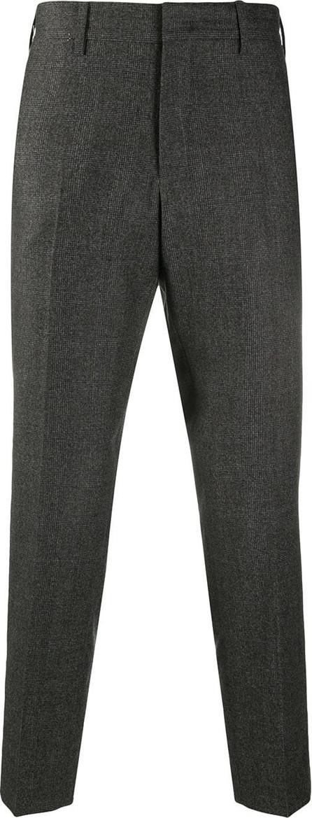 Pt01 Tonal woven check trousers