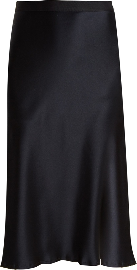 Nili Lotan Lillie silk-satin skirt