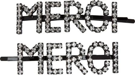 Ashley Williams Transparent 'Merci' Hair Clip Set