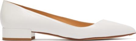 Francesco Russo Point-toe leather flats