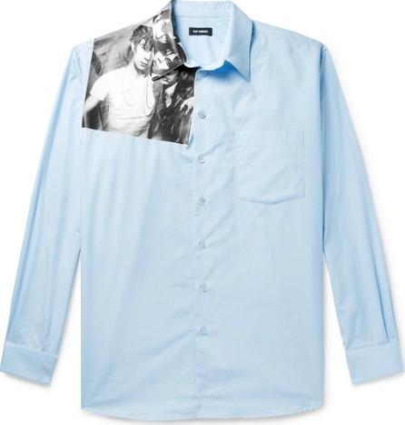 Raf Simons Printed Cotton-Poplin Shirt