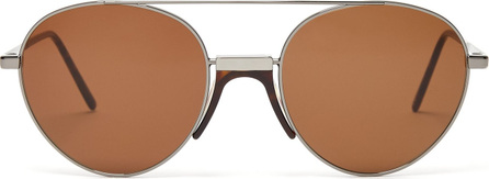 Andy Wolf Stiltenn aviator-frame metal sunglasses