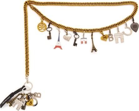 Balenciaga Charm chain belt