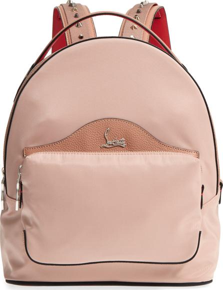 Christian Louboutin Small Backloubi Nylon Backpack