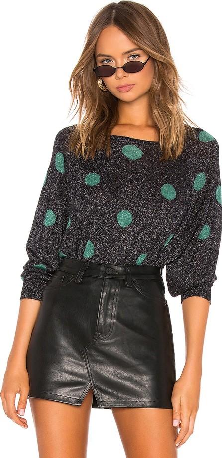 Autumn Cashmere Polk Dot Crew Neck Sweater