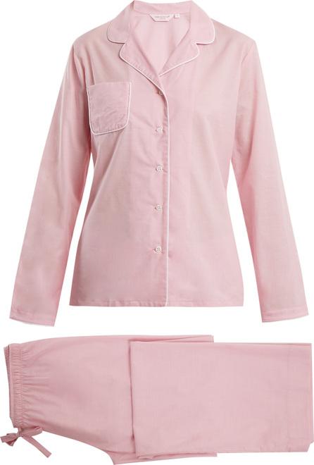 Derek Rose Amalfi 1 cotton pyjama set