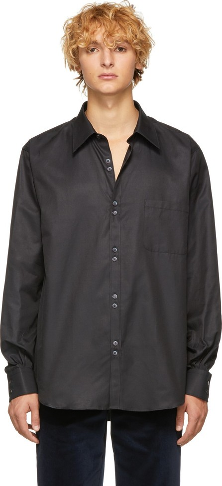 Cobra S.C. Black Double Button Shirt