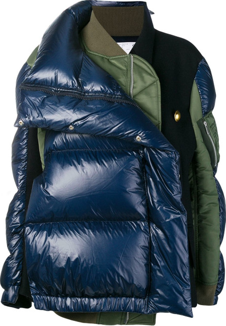 Sacai Puffer bomber jacket