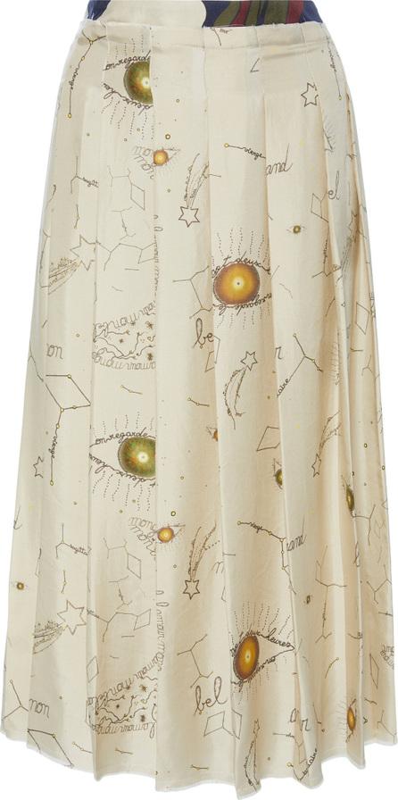 La Prestic Ouiston Gina Pleated Skirt
