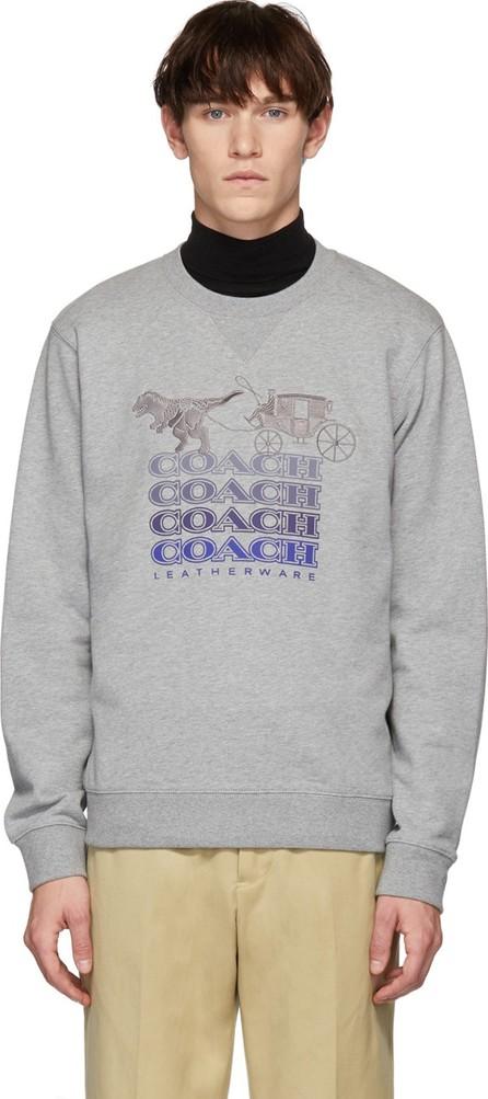 COACH 1941 Grey Shadow Rexy & Carriage Sweatshirt