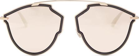 Dior Diorsorealrise mirrored aviator-frame sunglasses