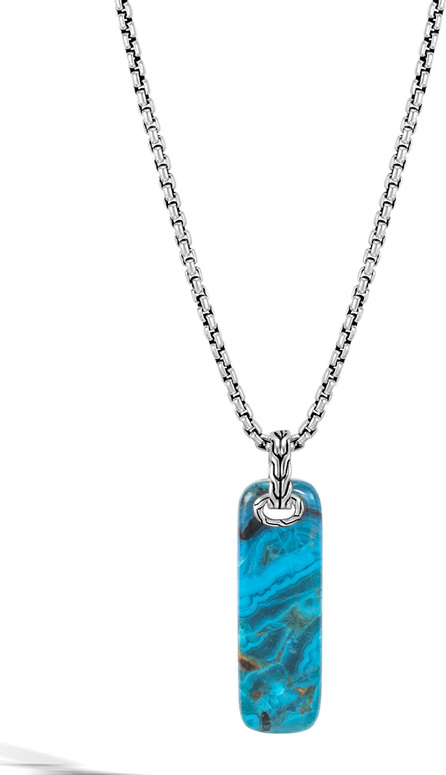 John Hardy Men's Classic Chain Chrysocolla Necklace