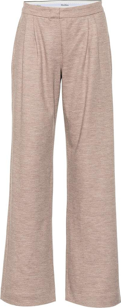 Max Mara Dondolo wool and cotton pants