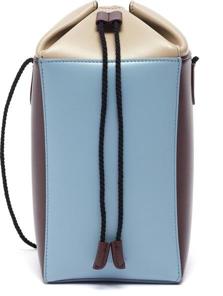 Jil Sander Carton' leather crossbody bag