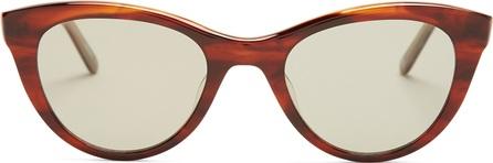 GARRETT LEIGHT X Clare V 47 cat-eye acetate sunglasses