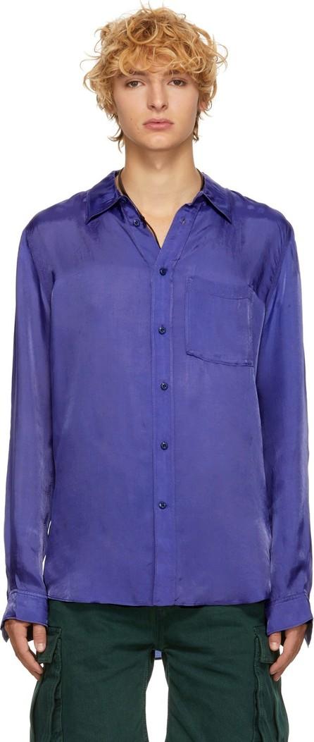 Acne Studios Blue Blå Konst Road Shirt