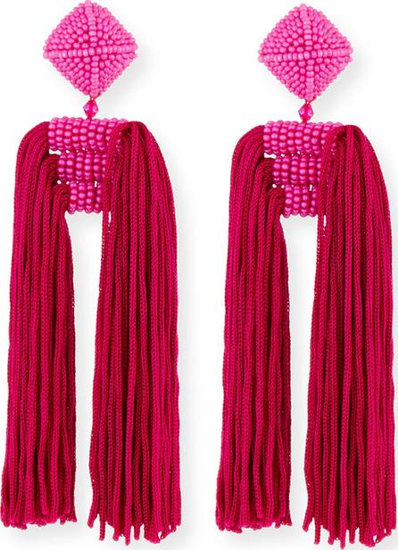 Sachin & Babi Dupio Tassel Clip Earring