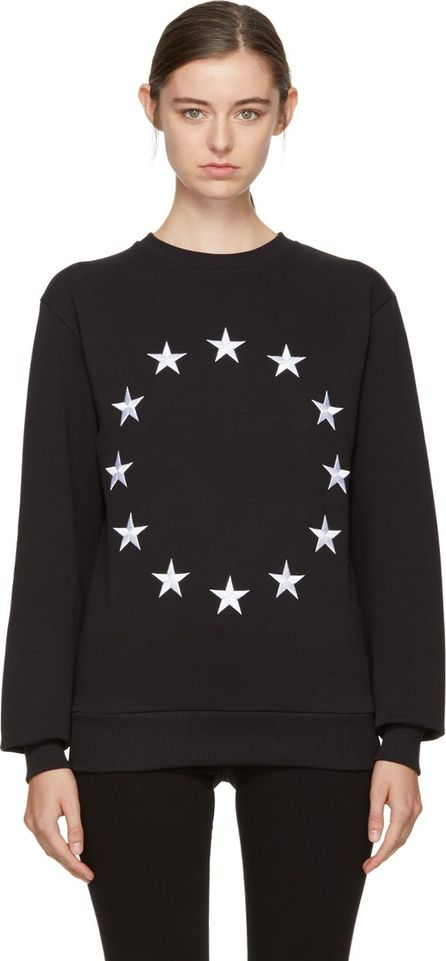 Etudes Black Étoile Europa Sweatshirt