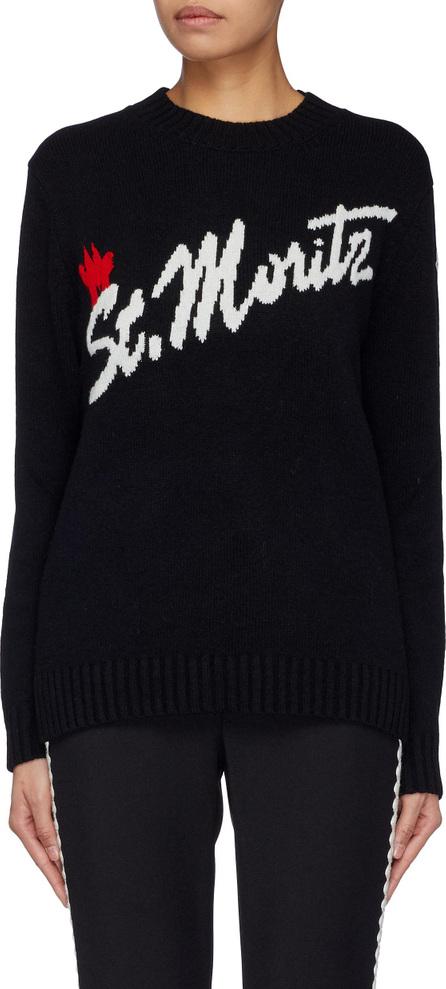 Moncler 'St. Moritz' intarsia sweater