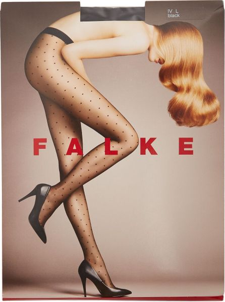 Falke Polka-dot 15 denier tights