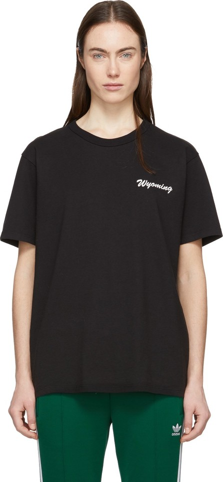 Bianca Chandon Black Handwritten Logotype T-Shirt