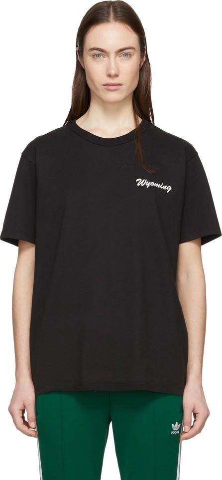 Bianca Chandon Black Handwritten Logotype T-Shirt