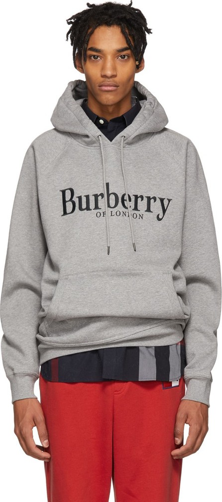 Burberry London England Grey Clarke Hoodie