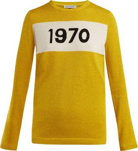 Bella Freud 1970 intarsia knit sweater
