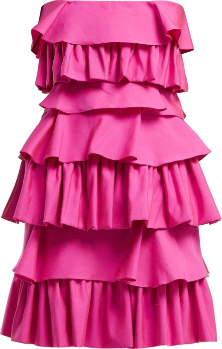 Emilio De La Morena Gloria tiered cotton dress