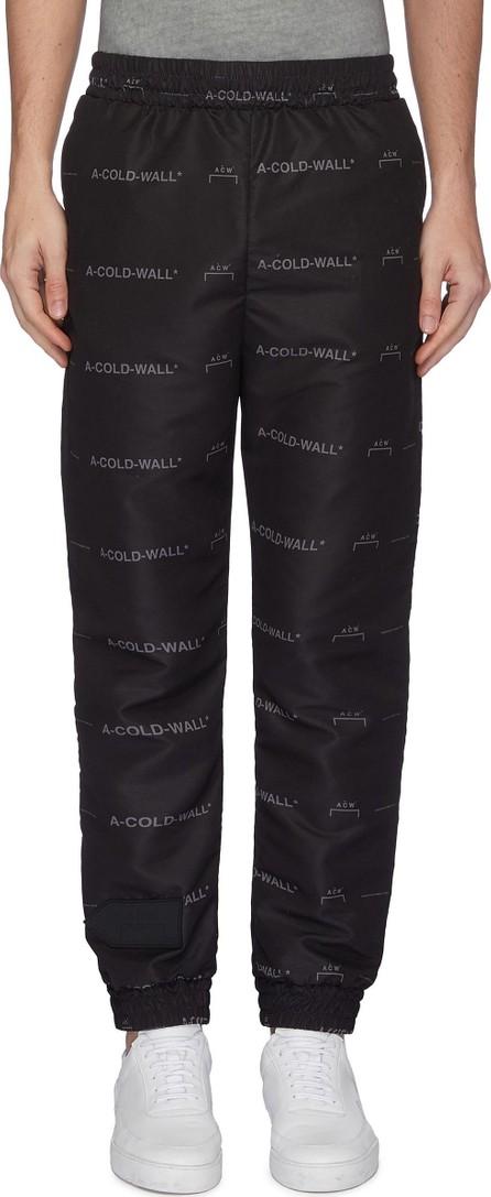 A-Cold-Wall* Logo print jogging pants