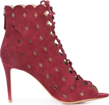 Rachel Zoe lace-up boots