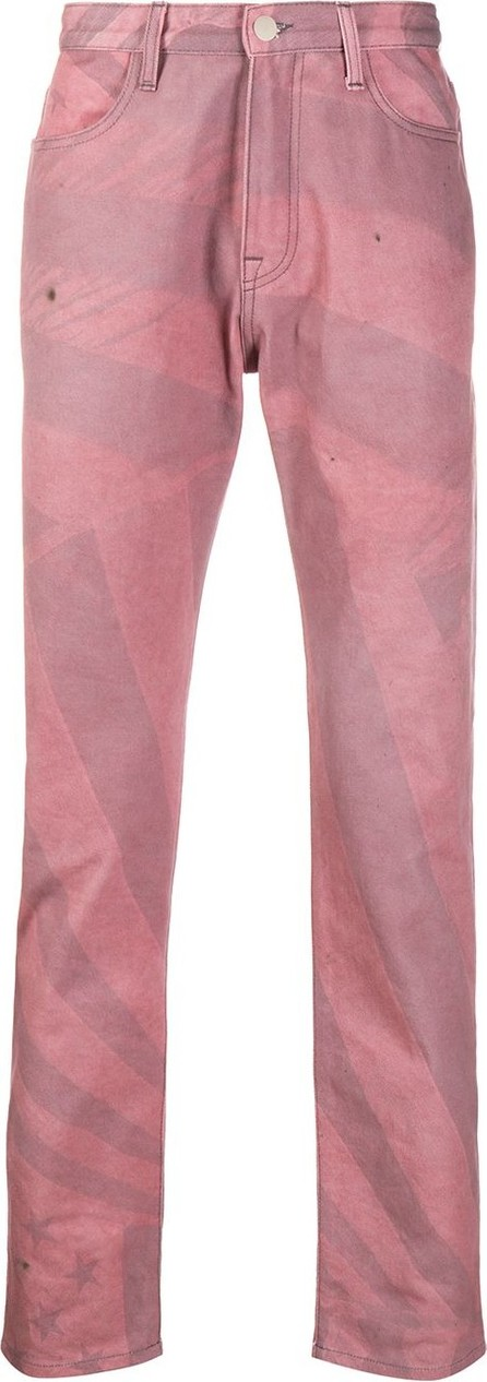 424 Fairfax Mid-rise straight jeans