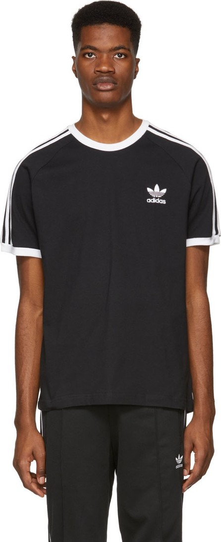 Adidas Originals Black 3-Stripes T-Shirt