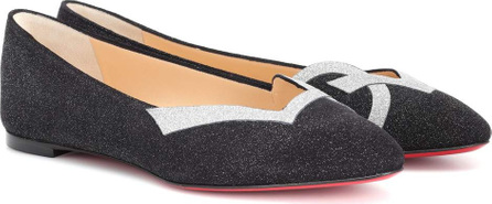 f6782d0ec3b ... Freddy Spiked Loafer Share Copied link. Christian Louboutin Love 2018  suede ballet flats