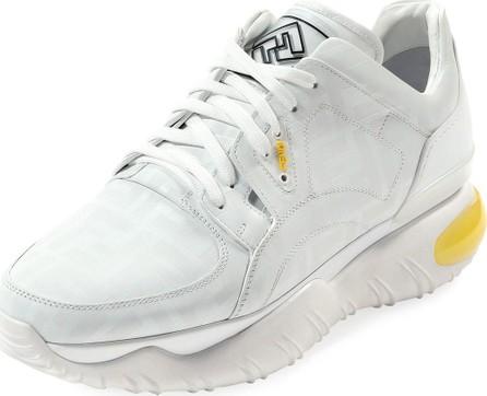 Fendi Men's Fancy Fendi Chunky Photosensitive Color-Changing Sneakers