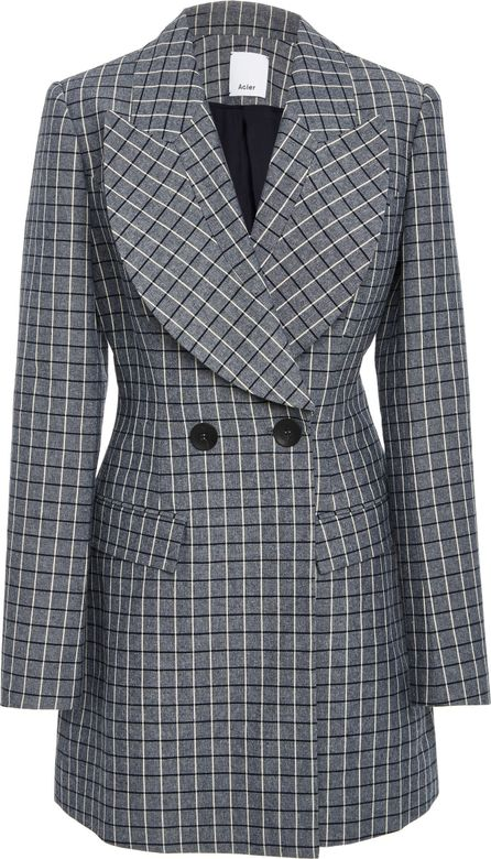 Acler Cunningham Double Breasted Blazer