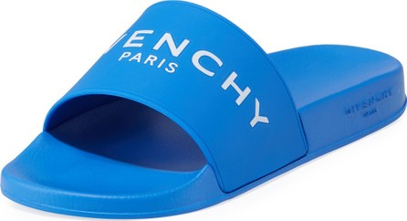 Givenchy Men's Logo Rubber Pool Slides