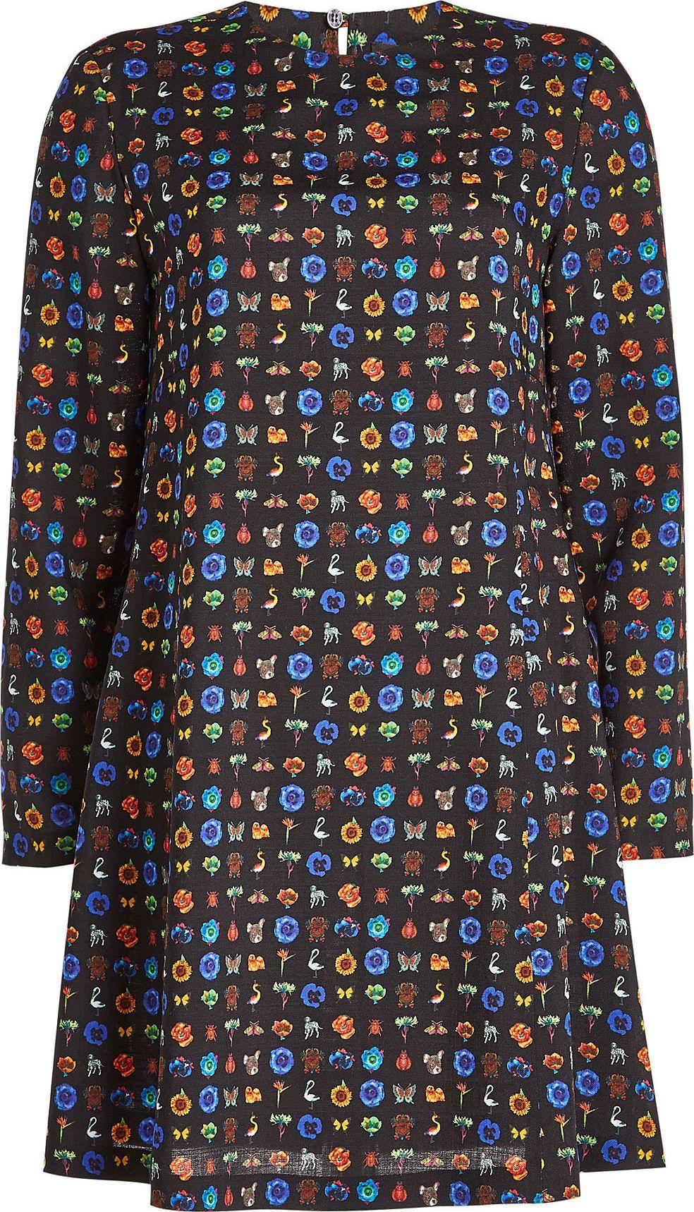 Etro - Printed Wool Dress