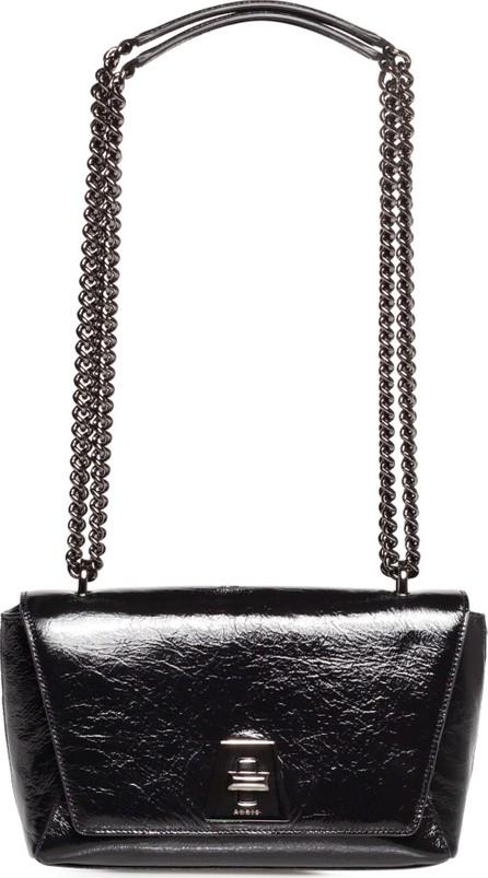 Akris Small Anouk Day Crinkled Leather Shoulder Bag