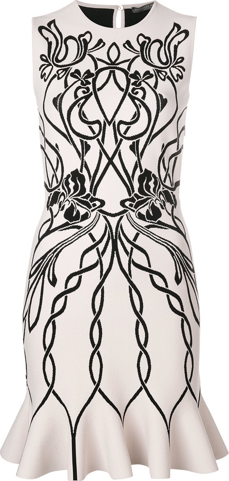 Alexander McQueen Jacquard Mini dress