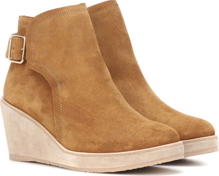 A.P.C. Suede ankle boots