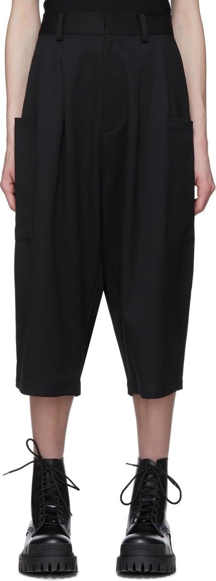 Ambush Black Harem Shorts