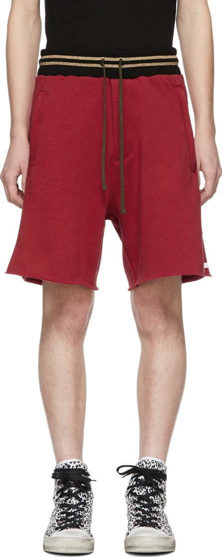Amiri Red 'Lovers' Track Shorts