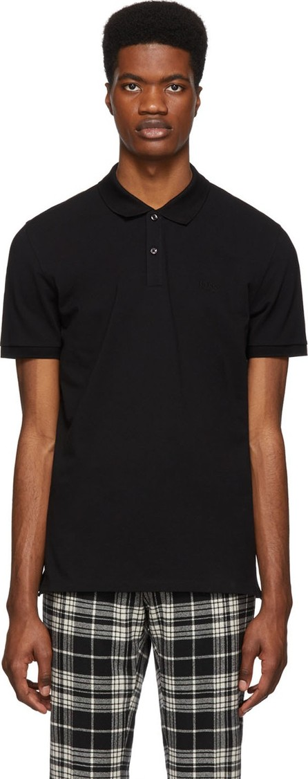 BOSS Hugo Boss Black Piqué Logo Polo