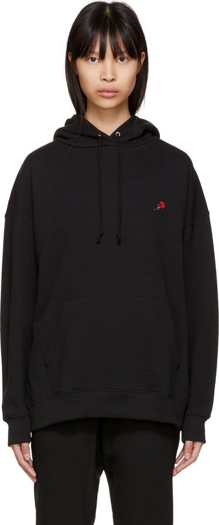 6397 SSENSE Exclusive Black Rose Hoodie