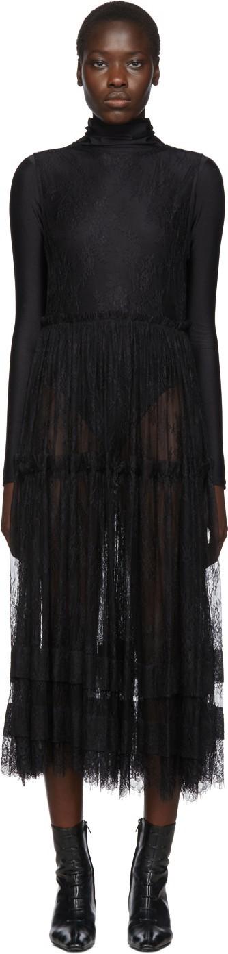 Chika Kisada Black Lace Dress