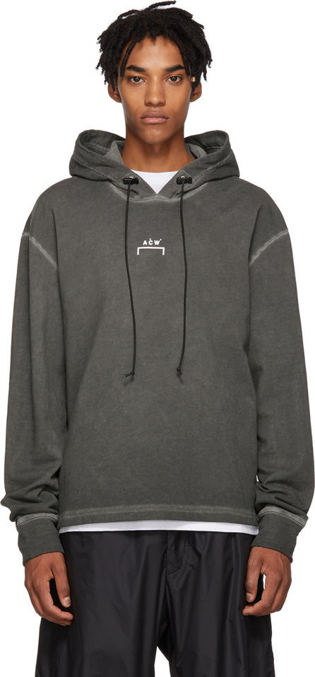 A-Cold-Wall* Grey Logo Hoodie