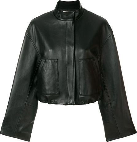 3.1 Phillip Lim zipped biker jacket